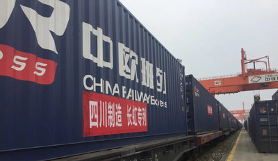 The first Changhong freight train over China Railway Express (CRE) is a further indicator that the company's ability to respond to trends in the market will be further enhanced.