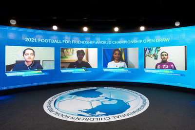 """Football for Friendship draws teams for this year's """"Football for Friendship eWorld Championship"""""""