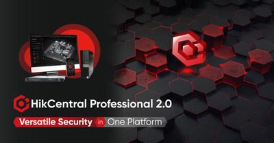 HikCentral Professional 2.0 de Hikvision (PRNewsfoto/Hikvision)