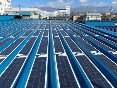 the First off-grid Solar PV project with Sunport Power flexible module in Japan