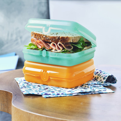 Tupperware introduced new ECO+ products including Lunch-It® Containers and Sandwich Keepers and announced the expansion of ECO+ in a clear product portfolio with the introduction of Eastman Tritan™ Renew, featuring 50 percent certified recycled material.