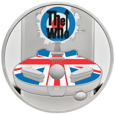 The Royal Mint, the Original Maker of UK coins, has today launched a new range of collectable coins celebrating the iconic British band – The Who. Please see pictured the 2021 UK One Ounce Silver Proof Coin.