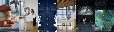 The work of 6 artists is on display at Tokyo Cruise Terminal